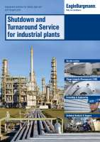 Leaflet Shutdown and turnaround service for industrial plants
